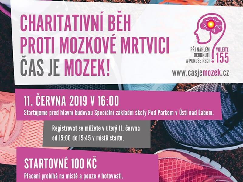 c1ceb39f9 V Ústí nad Labem se tentokrát poběží pro mladou dívku Sabinu Holcmanovou. V  čele běhu bude český maratonec Jiří Homoláč.
